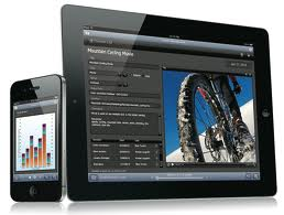 Filemaker Go 12 for iPad and iPhone used by small business owners
