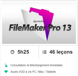 Formation FileMaker 13 - Elephorm