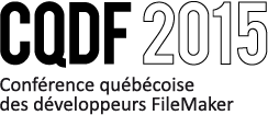 FileMaker Conference Quebec cqdf 2015