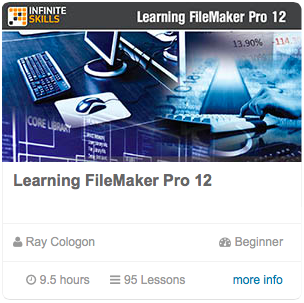 Learning FileMaker 12 - Infinite Skills