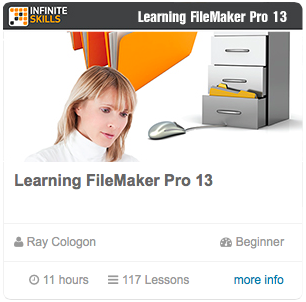 Learning FileMaker 13 - Infinite Skills